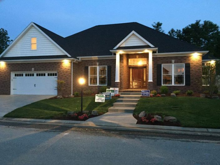 2015 Parade Home Night Exterior