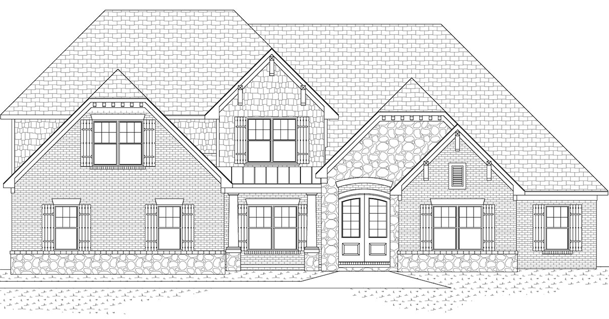 1047 Lakefield Drive Front Exterior